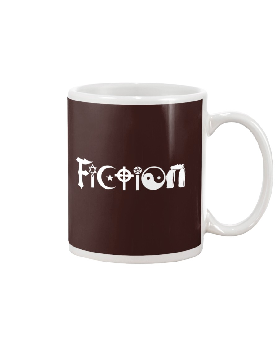 All the world's religions are fiction Mug