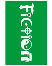 All the world's religions are fiction 16x24 Poster front