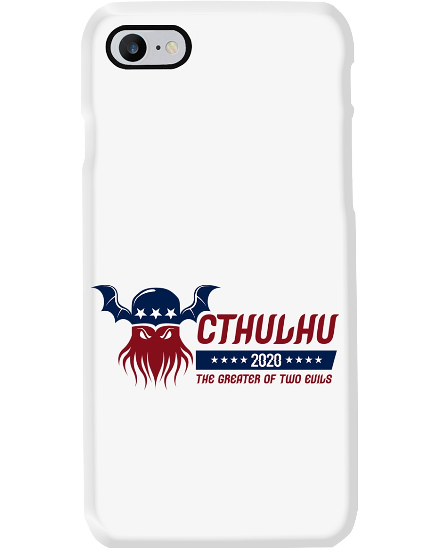 Cthulhu 2020 - The Greater of Two Evils Phone Case