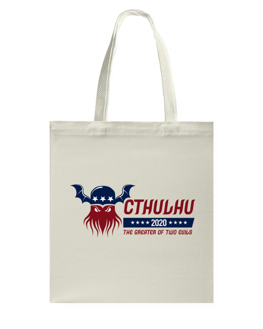 Cthulhu 2020 - The Greater of Two Evils Tote Bag