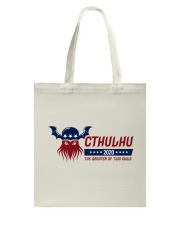 Cthulhu 2020 - The Greater of Two Evils Tote Bag thumbnail