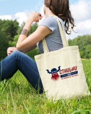 Cthulhu 2020 - The Greater of Two Evils Tote Bag lifestyle-totebag-front-6