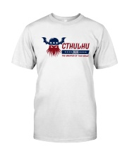 Cthulhu 2020 - The Greater of Two Evils Classic T-Shirt tile