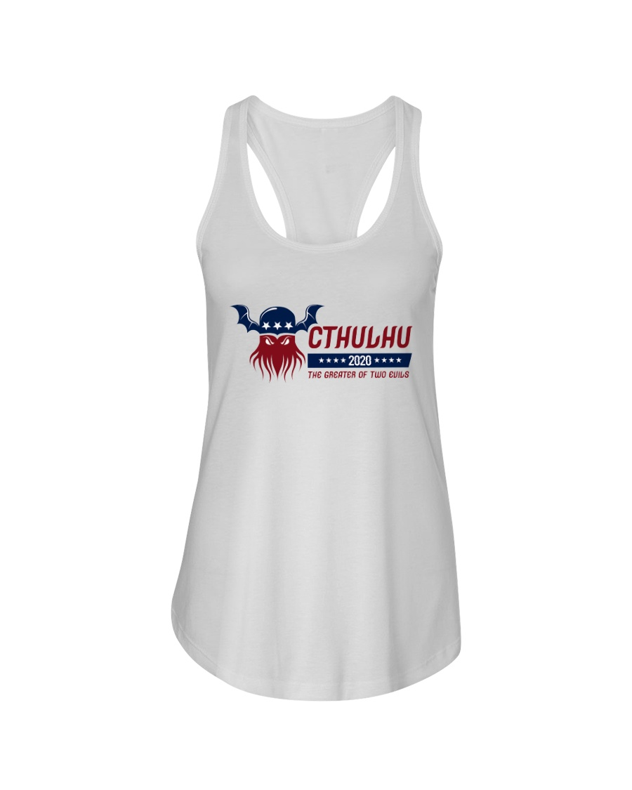 Cthulhu 2020 - The Greater of Two Evils Ladies Flowy Tank