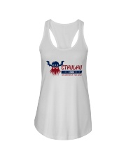Cthulhu 2020 - The Greater of Two Evils Ladies Flowy Tank front