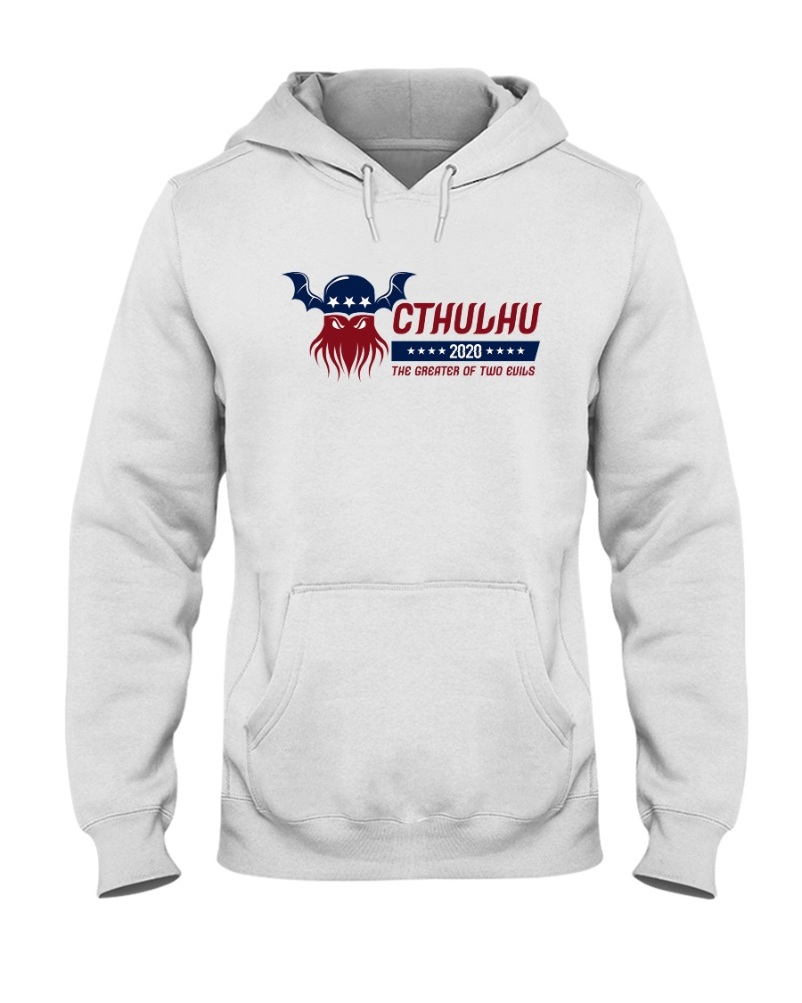 Cthulhu 2020 - The Greater of Two Evils Hooded Sweatshirt