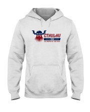 Cthulhu 2020 - The Greater of Two Evils Hooded Sweatshirt thumbnail