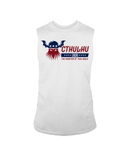 Cthulhu 2020 - The Greater of Two Evils Sleeveless Tee thumbnail