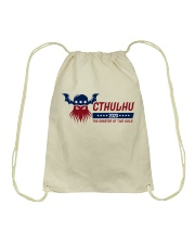 Cthulhu 2020 - The Greater of Two Evils Drawstring Bag thumbnail