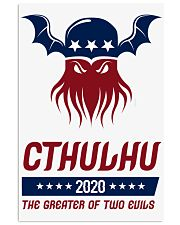 Cthulhu 2020 - The Greater of Two Evils 11x17 Poster thumbnail