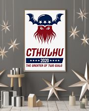 Cthulhu 2020 - The Greater of Two Evils 11x17 Poster lifestyle-holiday-poster-1