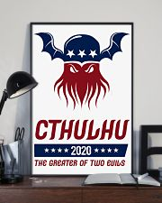 Cthulhu 2020 - The Greater of Two Evils 16x24 Poster lifestyle-poster-2