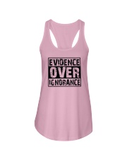 Evidence over ignorance  Ladies Flowy Tank thumbnail