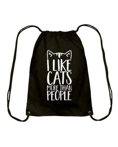 I like cats more than people shirt