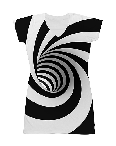 Hypnotic Spiral Wormhole Shirt
