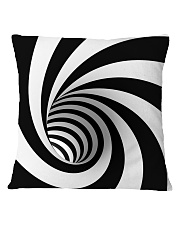 Hypnotic Spiral Wormhole Shirt Square Pillowcase thumbnail