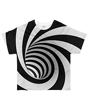 Hypnotic Spiral Wormhole Shirt All-over T-Shirt front