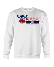 Cthulhu 2020 - Because NO lives matter Crewneck Sweatshirt thumbnail
