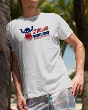 Cthulhu 2020 - Because NO lives matter Classic T-Shirt lifestyle-mens-crewneck-front-10