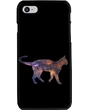 Galaxy Cat Silhouette Phone Case tile
