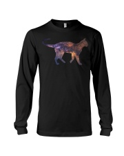 Galaxy Cat Silhouette Long Sleeve Tee thumbnail