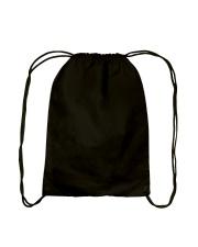 Galaxy Cat Silhouette Drawstring Bag back