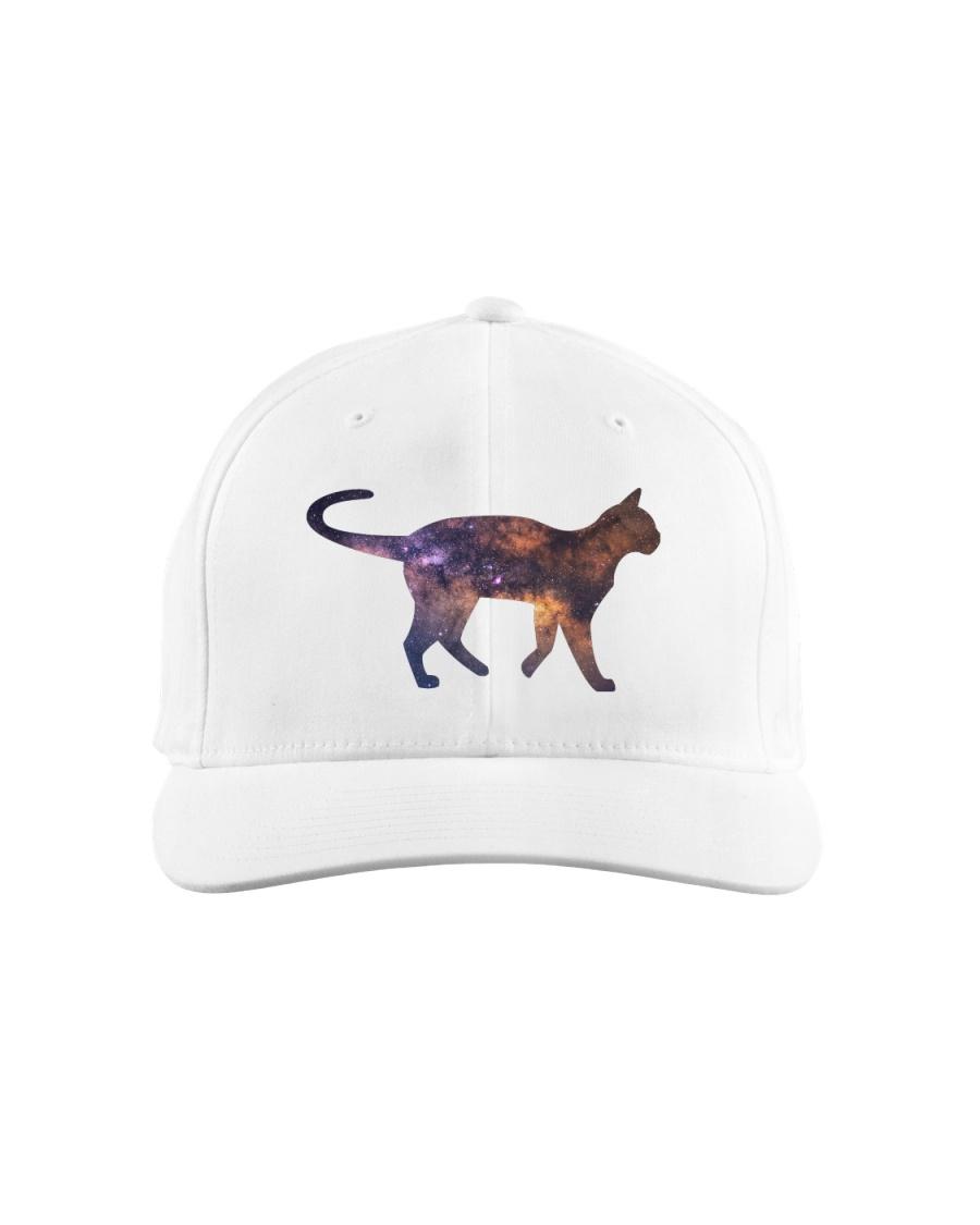 Galaxy Cat Silhouette Classic Hat