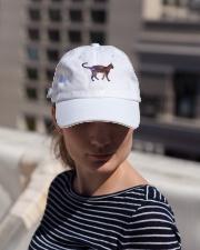 Galaxy Cat Silhouette Classic Hat lifestyle-flex-hat-front-1