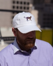 Galaxy Cat Silhouette Classic Hat lifestyle-flex-hat-front-2