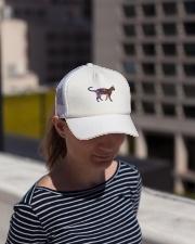 Galaxy Cat Silhouette Trucker Hat lifestyle-trucker-hat-front-1