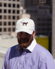 Galaxy Cat Silhouette Trucker Hat lifestyle-trucker-hat-front-2