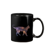 Galaxy Cat Silhouette Mug tile