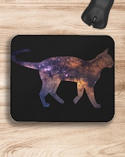 Galaxy Cat Silhouette Mousepad aos-mousepad-front-lifestyle-1