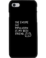 All cats are the best cats - Skeptical Kitten Phone Case thumbnail