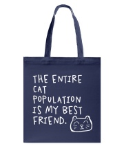 All cats are the best cats - Skeptical Kitten Tote Bag thumbnail