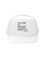 All cats are the best cats - Skeptical Kitten Trucker Hat thumbnail