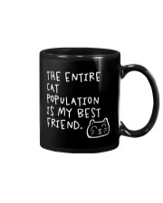 All cats are the best cats - Skeptical Kitten Mug thumbnail
