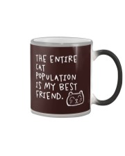 All cats are the best cats - Skeptical Kitten Color Changing Mug thumbnail