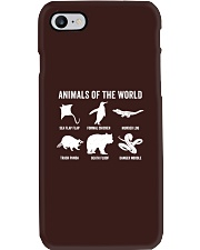 Trash Panda - Danger Noodle - Murder Log Shirt Phone Case thumbnail