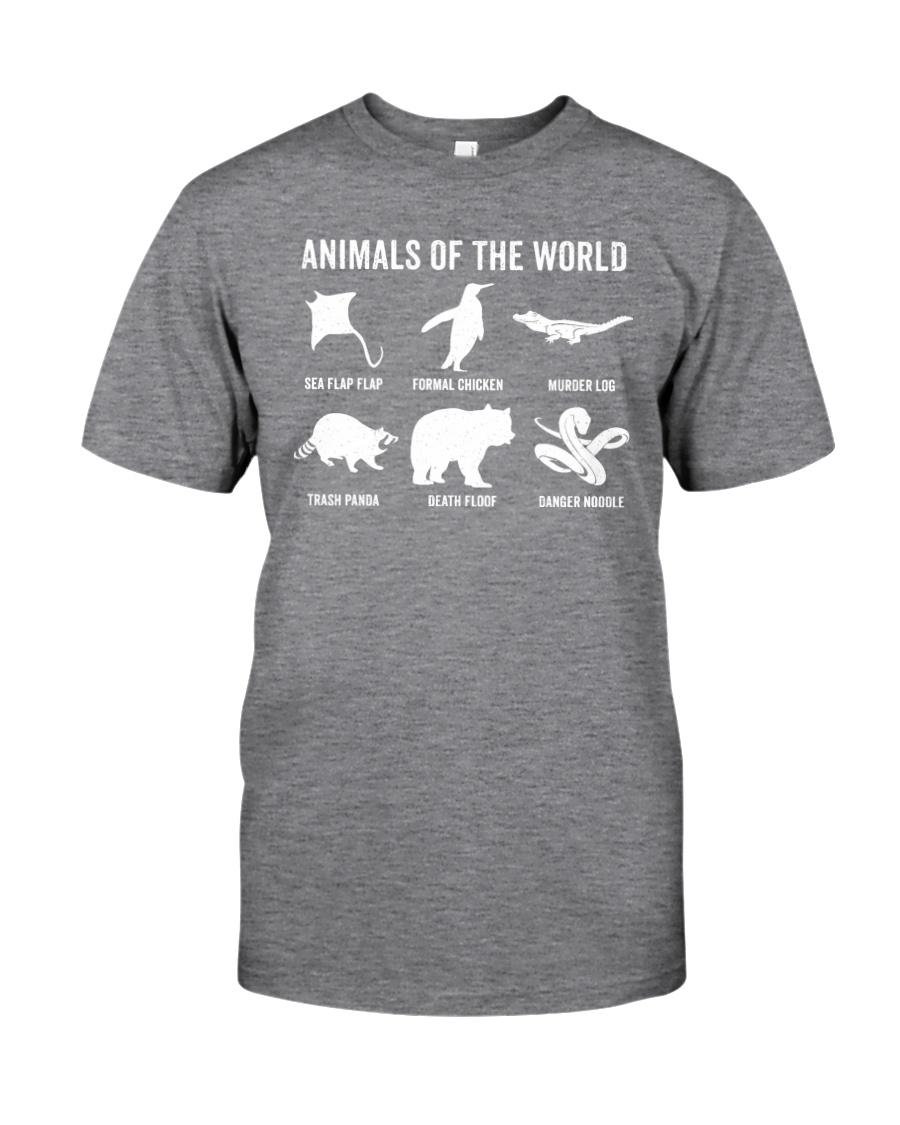 Trash Panda - Danger Noodle - Murder Log Shirt