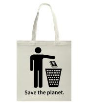 Save the planet - dump religion Tote Bag thumbnail