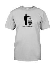 Save the planet - dump religion Classic T-Shirt front