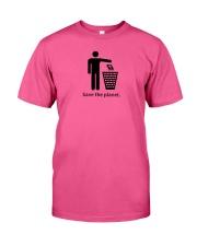 Save the planet - dump religion Classic T-Shirt tile