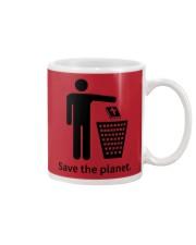 Save the planet - dump religion Mug thumbnail