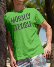 Morally Flexible Classic T-Shirt lifestyle-mens-crewneck-front-10