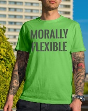 Morally Flexible Classic T-Shirt lifestyle-mens-crewneck-front-8