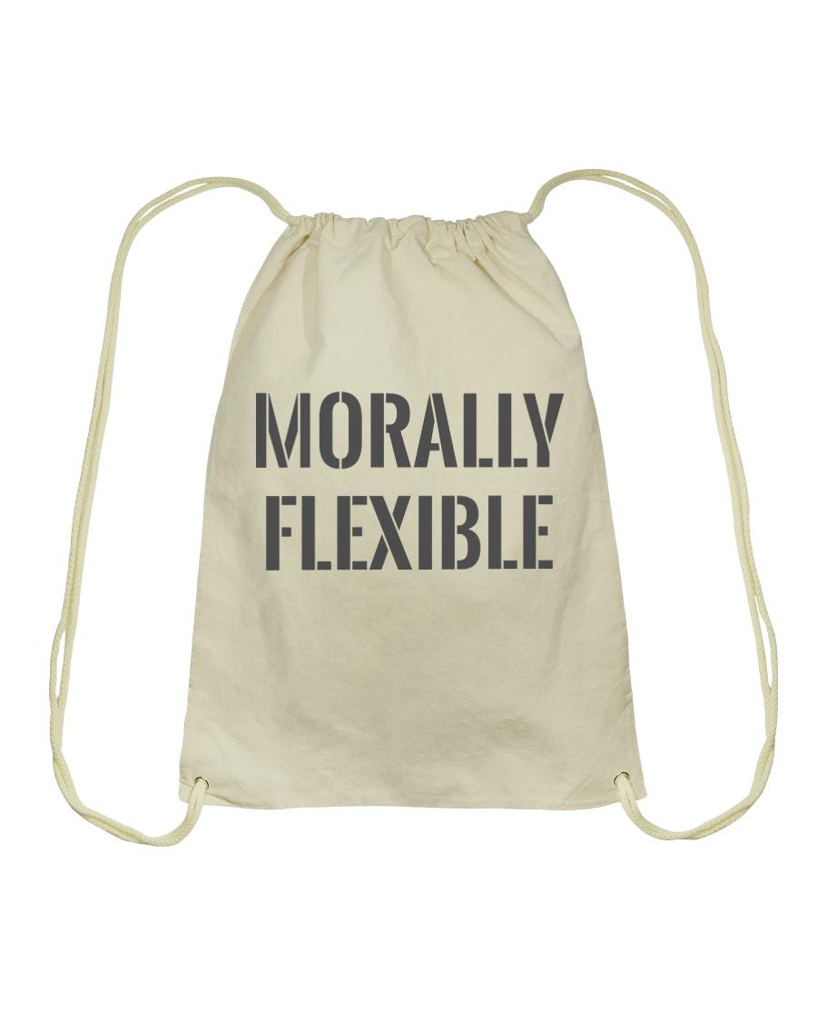 Morally Flexible Drawstring Bag