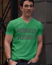 Morally Flexible V-Neck T-Shirt lifestyle-mens-vneck-front-2
