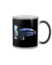 SpaceX Starman Looking at Earth Color Changing Mug thumbnail