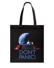 DON'T PANIC - Starman in Space with Roadster Tote Bag thumbnail